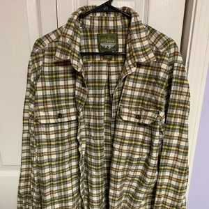 Men's Eddie Bauer flannel shirt